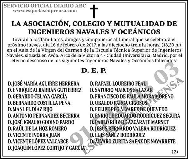 Asociación, Colegio y Mutualidad de Ingenieros Navales y Oceánicos